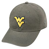 Adult Top Of The World West Virginia Mountaineers Crew Baseball Cap