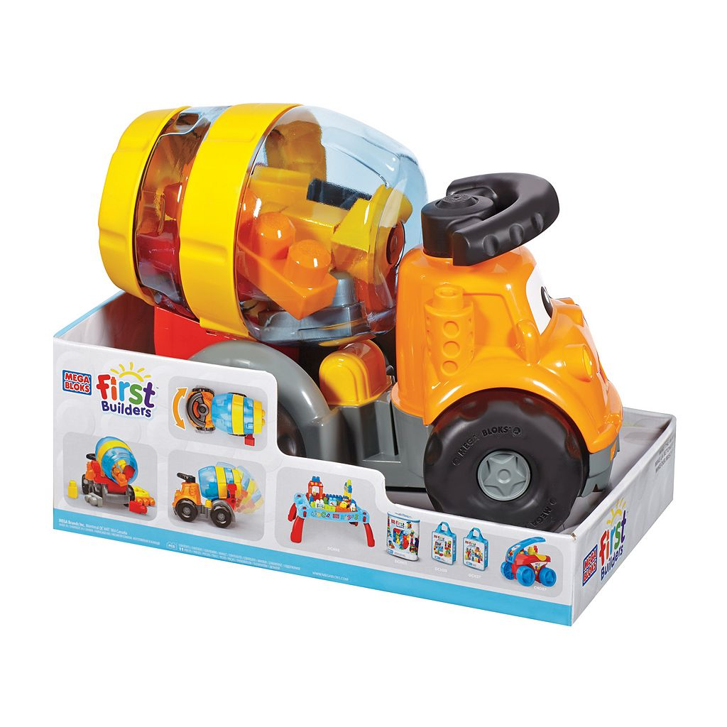 Mega Bloks Mike the Mixer