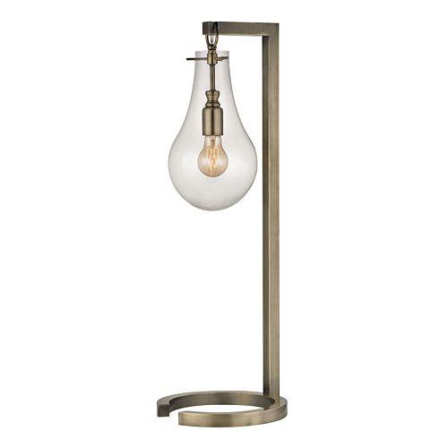 Dimond Foucault Antique Brass Table Lamp