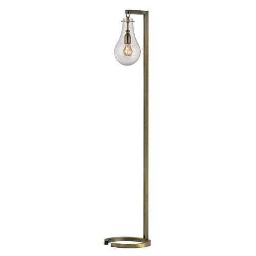 Dimond Foucault Antique Brass Floor Lamp