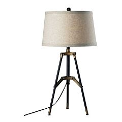 Dimond Functional Tri-Pod LED Table Lamp