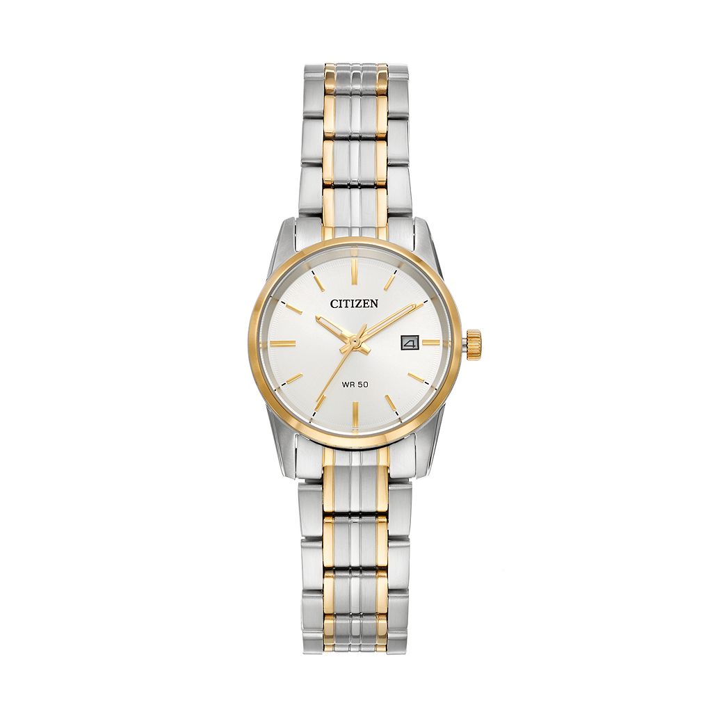 Citizen Women's Two Tone Stainless Steel Watch - EU6004-56A