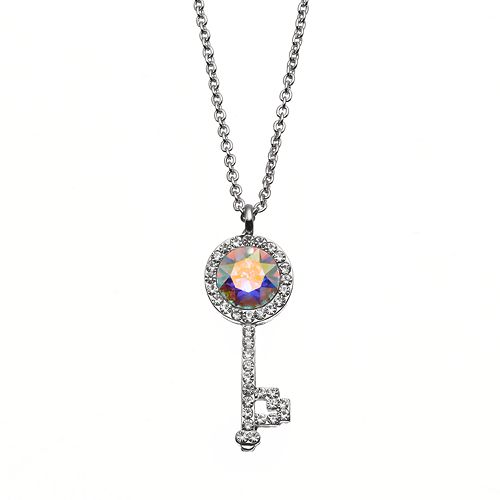 Charming Inspirations Key Pendant Necklace