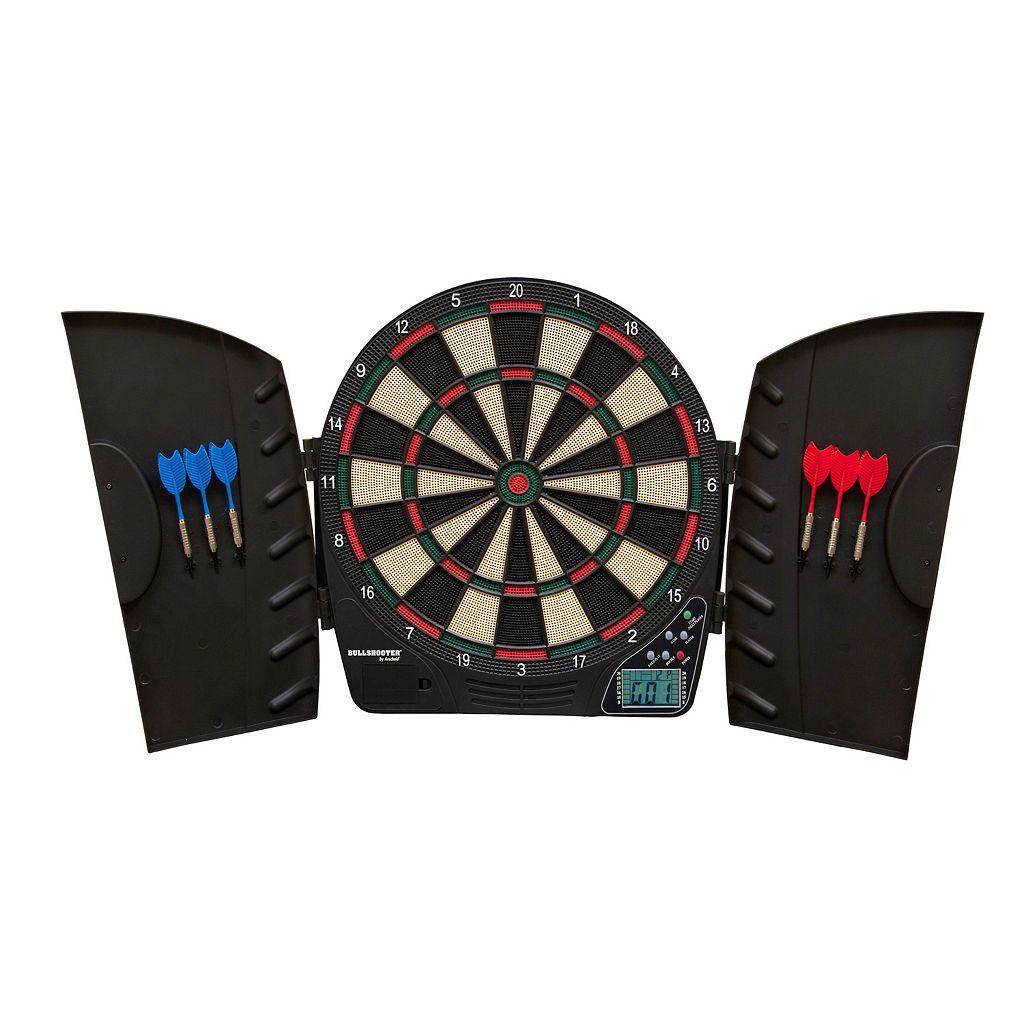 Triumph Sports USA Vector Electronic Dartboard & Cabinet Set