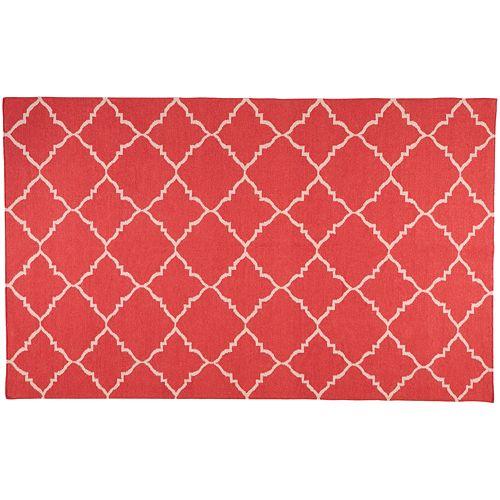 Artisan Weaver Stanstead Lattice Reversible Wool Rug
