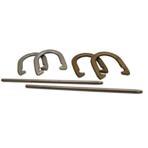 Triumph Sports USA Metal Horseshoe Set