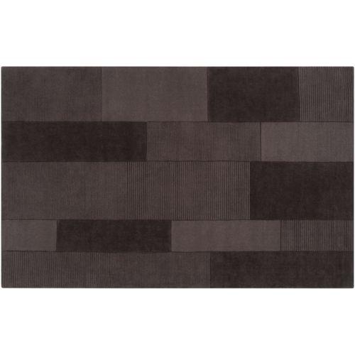 Artisan Weaver Cheyenne Colorblock Gray Wool Rug