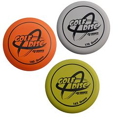 Triumph 3-pc. Disc Golf Replacement Discs