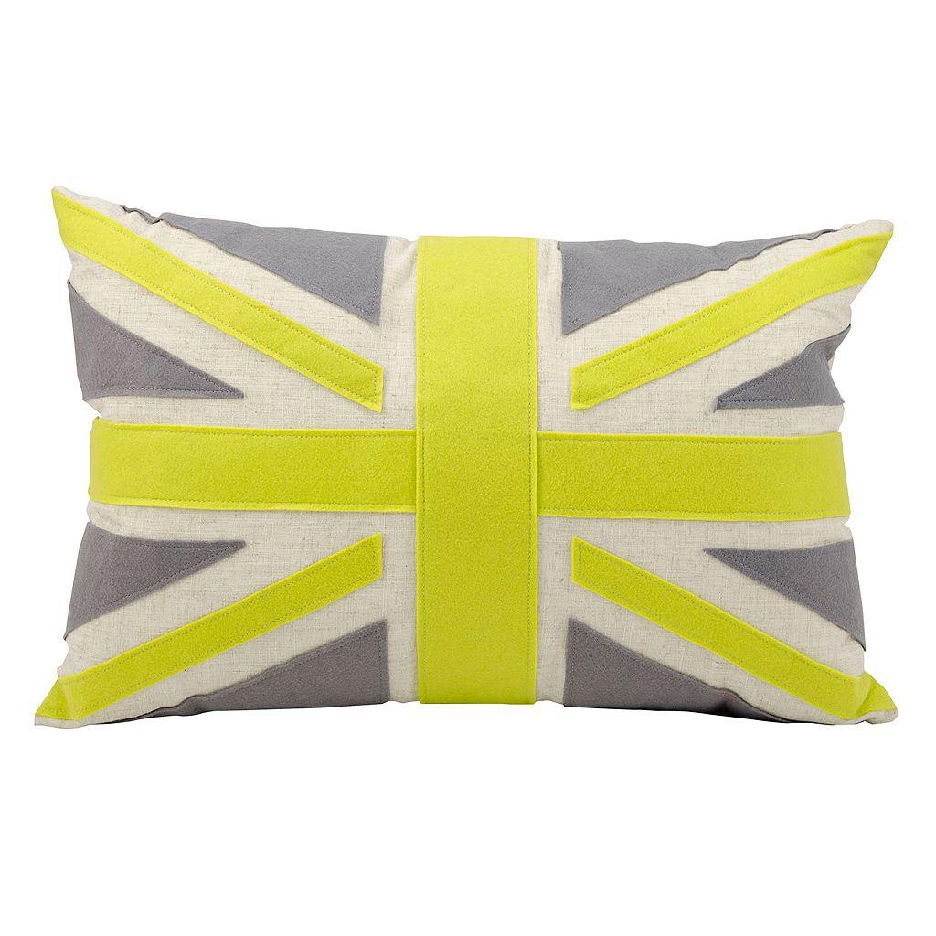Mina Victory 16'' x 24'' Flag Throw Pillow
