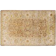 Artisan Weaver Tishomingo Floral Framed Wool Rug