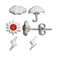 Charming Inspirations Weather Forecast Mismatch Stud Earring Set