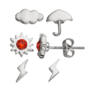 Charming Inspirations Weather Forecast Mismatch Stud Earring Set