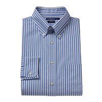Croft & Barrow® Slim-Fit Striped No-Iron Dress Shirt - Men