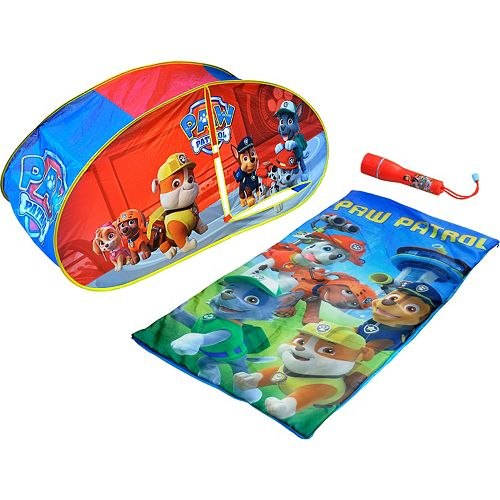 Paw Patrol Sleeping Bag Amp Tent Set