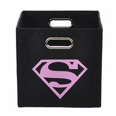 DC Comics Superman Logo Collapsible Storage Bin  by
