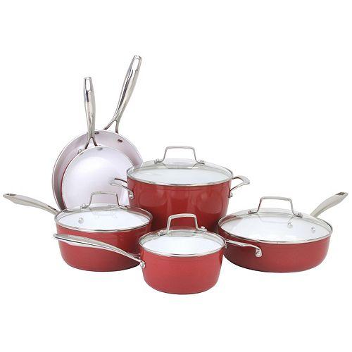 Oneida 10-pc. Forged Aluminum Cookware Set