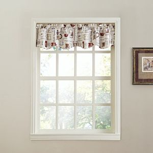 Top of the Window Espresso Straight Window Valance - 56'' x 14''