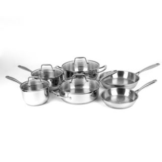 Oneida 10-pc. Stainless Steel Cookware Set