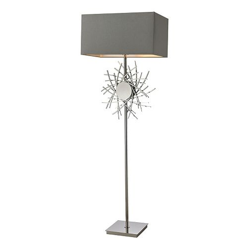 Dimond LED Abstract Metal Work Floor Lamp