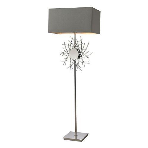 Dimond Abstract Metal Work Floor Lamp