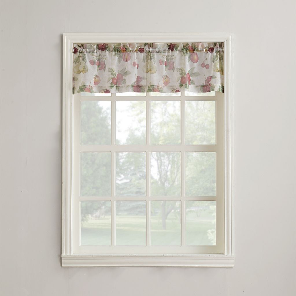 Top of the Window Summer Orchard Straight Valance - 54'' x 14''