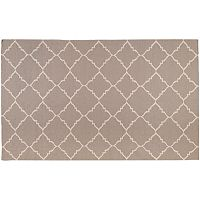 Artisan Weaver Ward Lattice Reversible Wool Rug