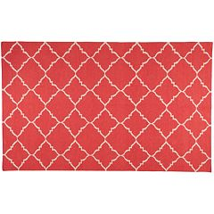 Artisan Weaver Ward Lattice Reversible Wool Rug