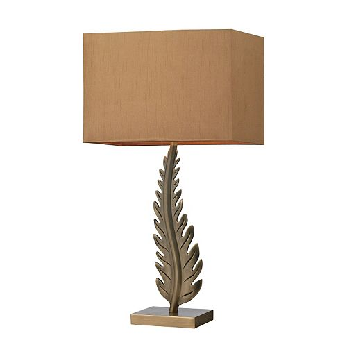 Dimond Leaf Table Lamp