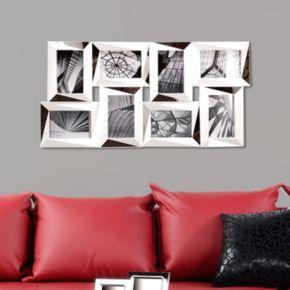 Kiera Grace Mira Mirrored 8-Opening 4'' x 6'' Collage Frame
