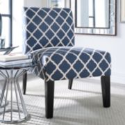 Jane Lattice Accent Chair