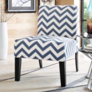 Jane Chevron Accent Chair