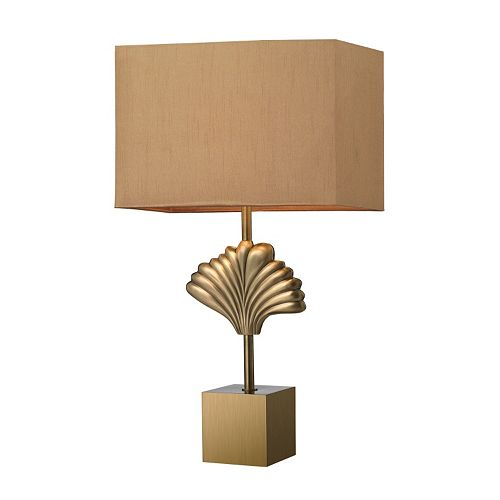Dimond LED Ginkgo Leaf Table Lamp