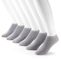Fruit of the Loom Signature Cushioned No-Show Socks - Men