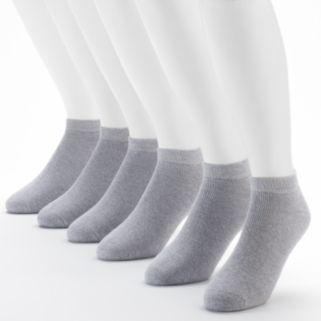 Men's Fruit of the Loom Signature Cushioned Low-Cut Socks