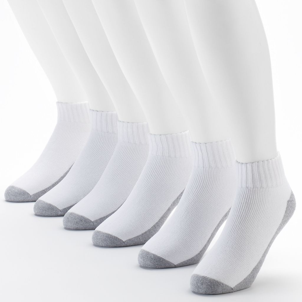 Men's Fruit of the Loom Signature Cushioned Ankle Socks