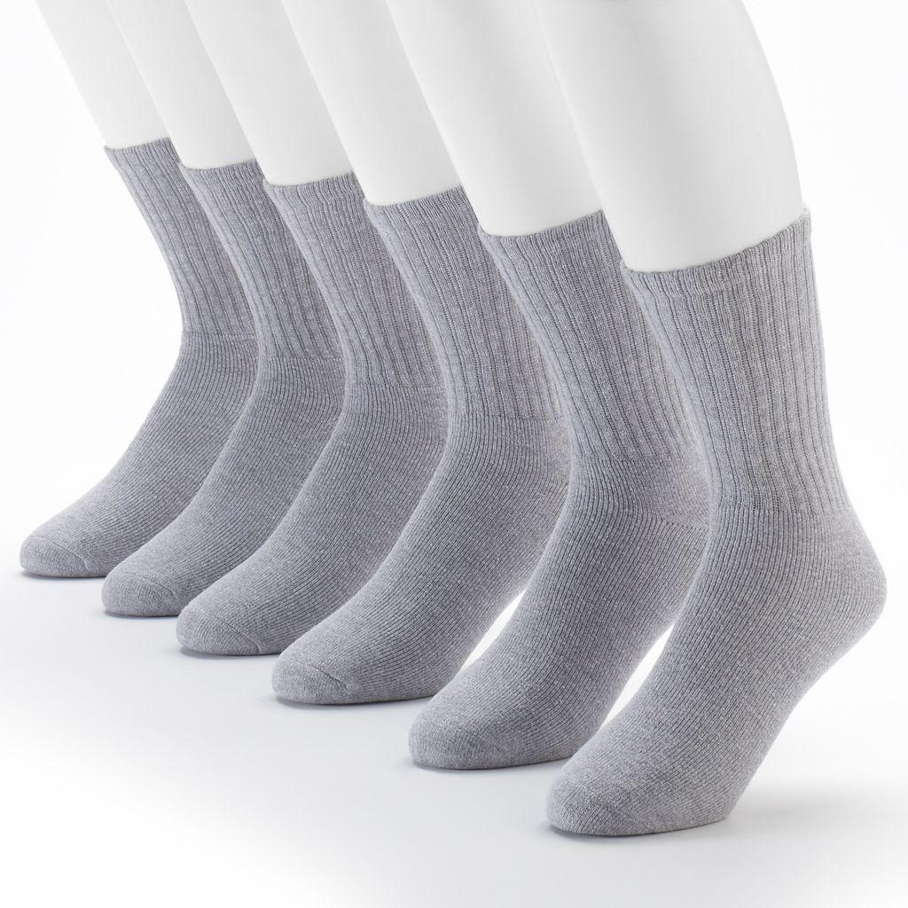 Fruit of the Loom Signature Cushioned Crew Socks - Men