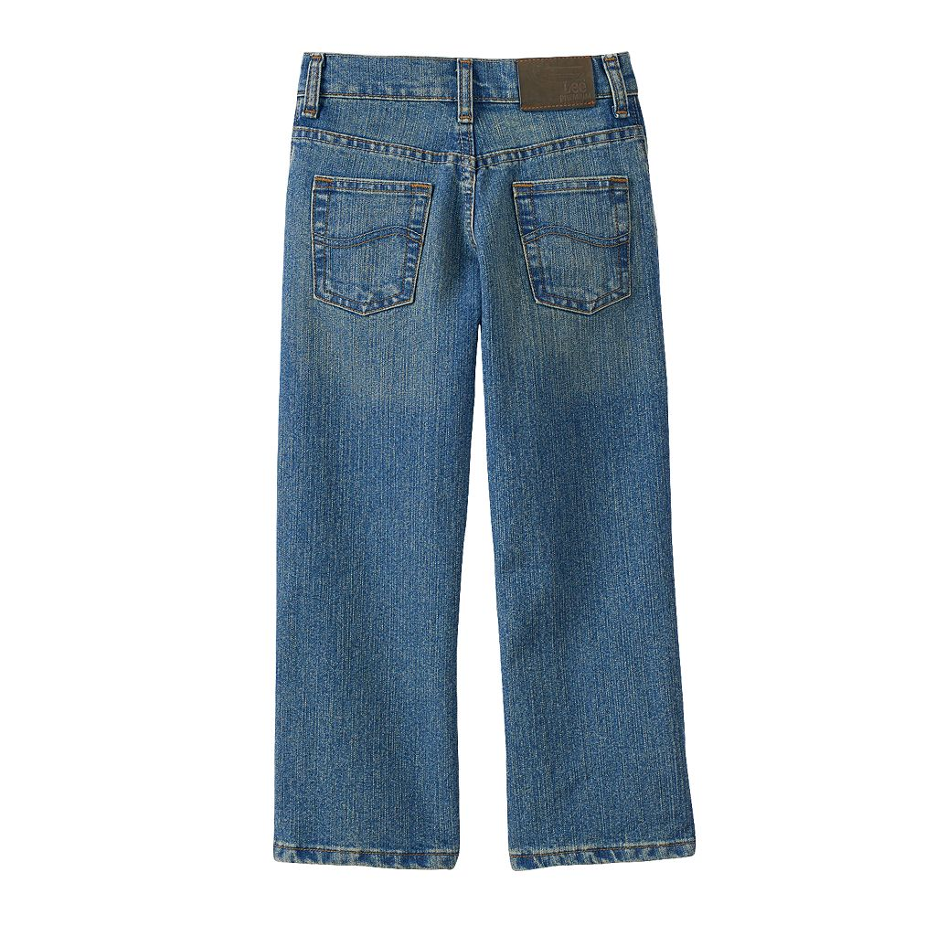Boys 4-7x Lee Tough Max Straight Jeans