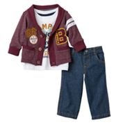 Boyzwear '86 Champ B' Cardigan Set - Toddler Boy