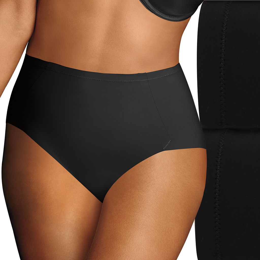 Maidenform Shapewear 2-pk. Sleek Smoothers Shaping Briefs DM1002 - Women's