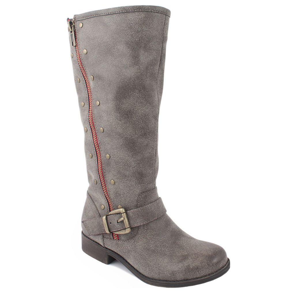 Mia Mavis Girls' Studded Riding Boots