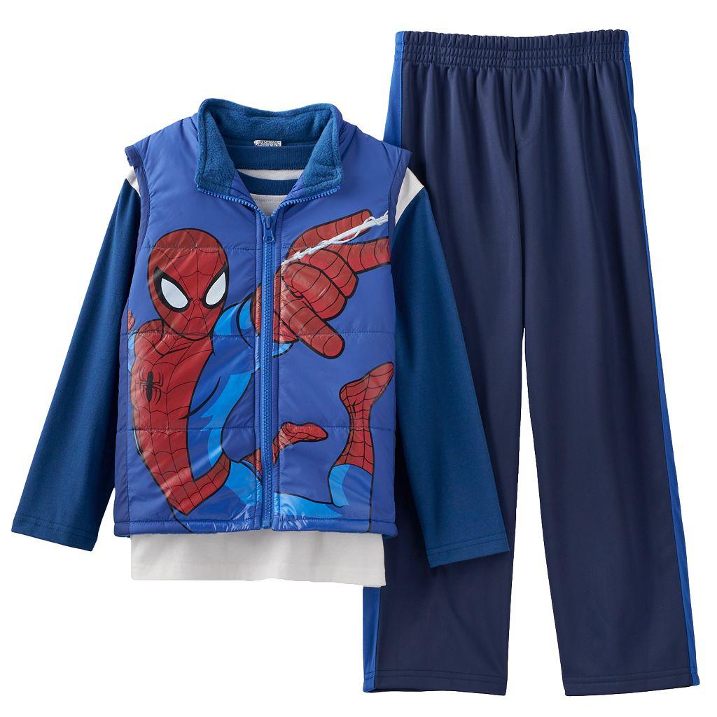 Ultimate Spider-Man Vest & Pants Set - Toddler Boy
