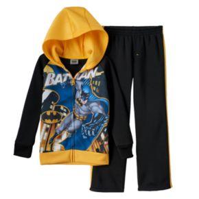 Batman Full-Zip Hoodie & Pants Set - Toddler Boy