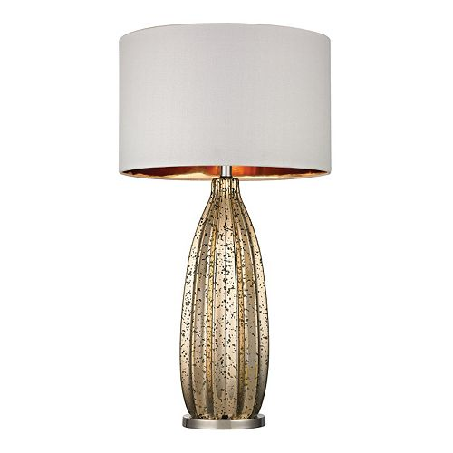 Dimond LED Pennistone Mercury Glass Table Lamp
