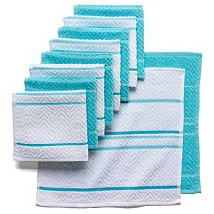 The Big One® Chevron Weave Dishcloths 10-pack
