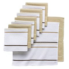 The Big One® 10-pc. Chevron Weave Dishcloths
