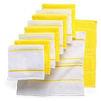 The Big One® 10 pc Chevron Weave Dishcloths