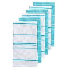 The Big One® Chevron Kitchen Towel 6-pack