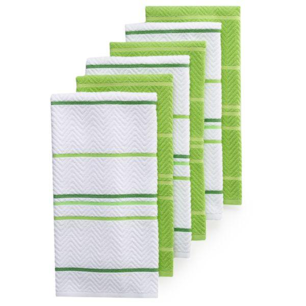 The Big One 174 6 Pc Kitchen Towel Set