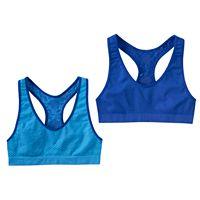 SO® Seamless Racerback Sports Bra - Girls