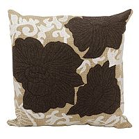 Mina Victory 20'' x 20'' Floral Throw Pillow